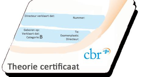 Theorie Certificaat